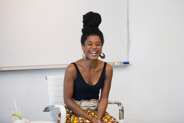 Photo Flash: Chisa Hutchinson Speaks as Part of Dramatists Guild Fund's Traveling Masters Program