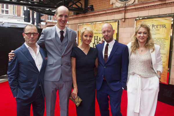 Colin Callender, Jack Thorne, JK Rowling, John Tiffany and Sonia Friedman