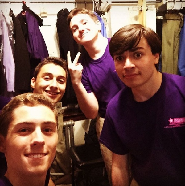 andrewgorenSaturday Intermission Pic at Paper Mill Playhouse's New Voices 2016: Everything Old Is New Again @officialbroadwayworld #sip