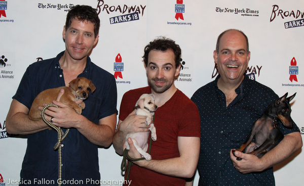James Barbour, Rob McClure and Brad Oscar