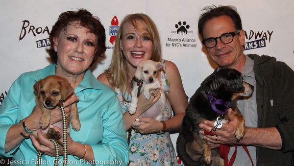 Judy Kaye, Carrie St. Louis and Peter Scolari