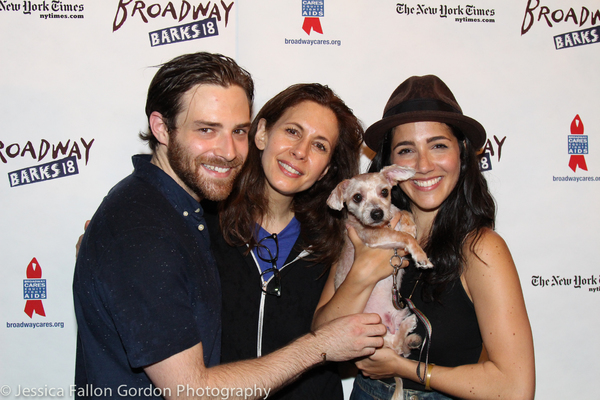Ben Rappaport, Jessica Hecht and Samatha Massell