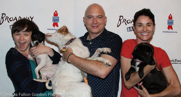 Emily Skeggs, Michael Cerveris and Beth Malone