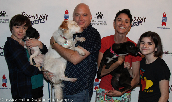 Emily Skeggs, Michael Cerveris, Beth Malone and Gabriella Pizzolo Photo