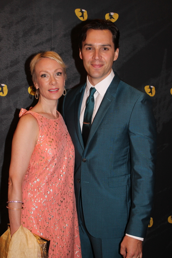 Kim Craven and Ryan Silverman