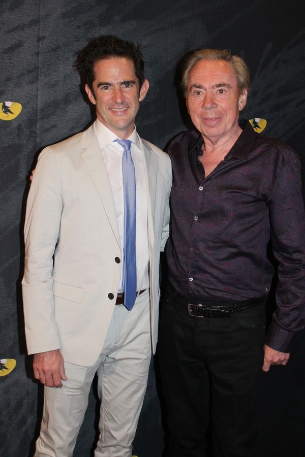 Andy Blankenbuehler and Andrew Lloyd Webber