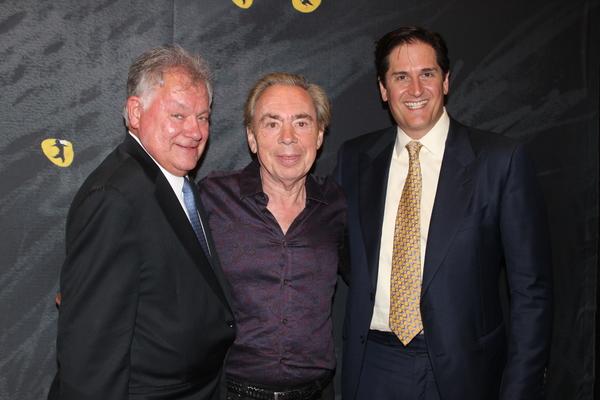 Robert Wanken, Andrew Lloyd Webber and Nick Scandalios