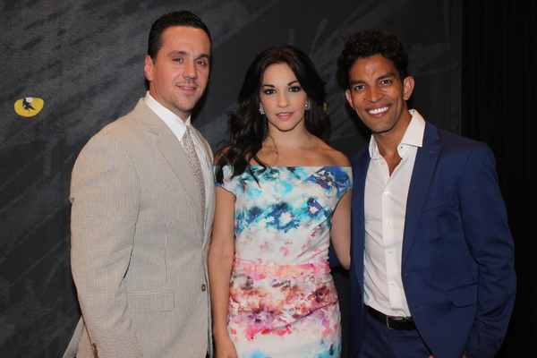 Henry Gainza, Ana Villafane and Carlos E. Gonzalez
