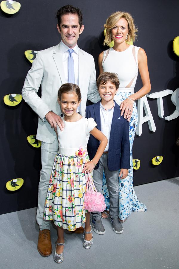 Andy Blankenbuehler, Elly Blankenbuehler and family
