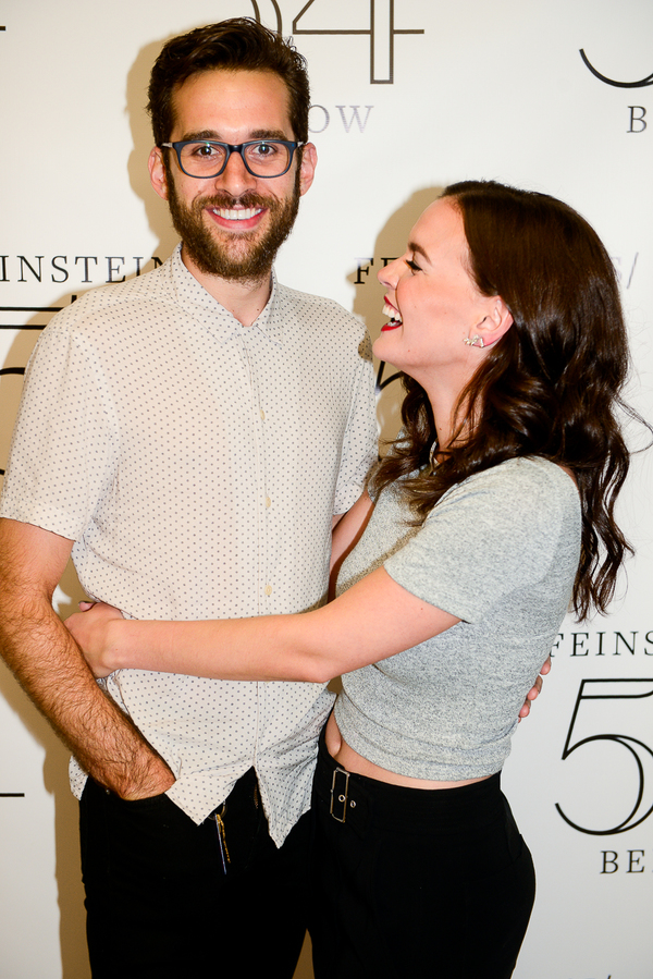 Adam Chanler-Berat and Jennifer Damiano