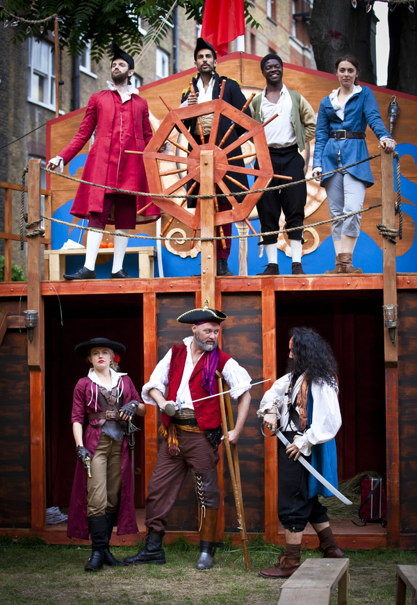 Photo Flash: First Look at Iris Theatre's TREASURE ISLAND, Opening Tonight in Covent Garden