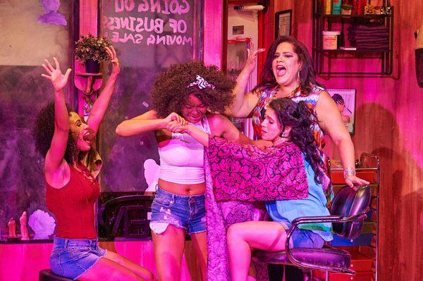Julissa Sabino, India Tyree, Diany Rodriguez and Lilliangina Quinones
