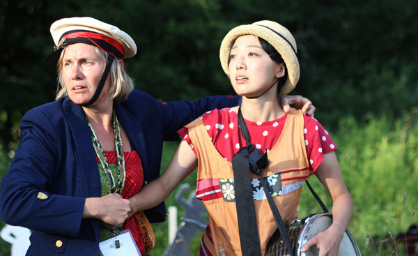 Photo Flash: NACL Theatre's COURAGE Plays Sold-Out Run at Apple Pond Farm