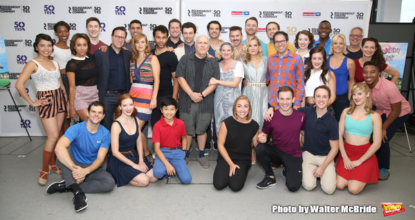 The cast & creative team attend the Roundabout Theatre Company Presents 'Holiday Inn, The New Irving Berlin Musical' press day at the Roundabout Studios on August 3, 2016 in New York City.