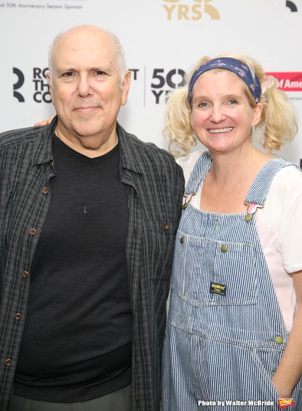 Lee Wilkof and Megan Lawrence