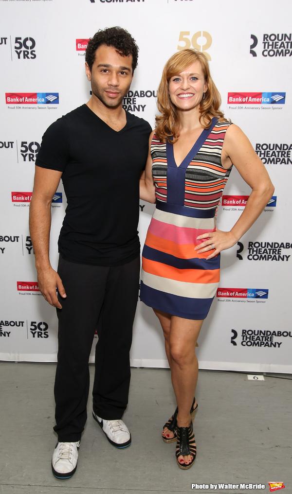 Corbin Bleu and Megan Sikora