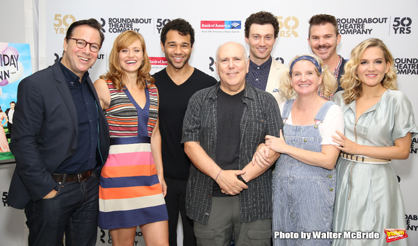 Gordon Greenberg, Mehan Silora, Corbin Bleu, Lee Wilkof, Bryce Pinkham, Megan Lawrence, Denis Jones and Lora Lee Gayer