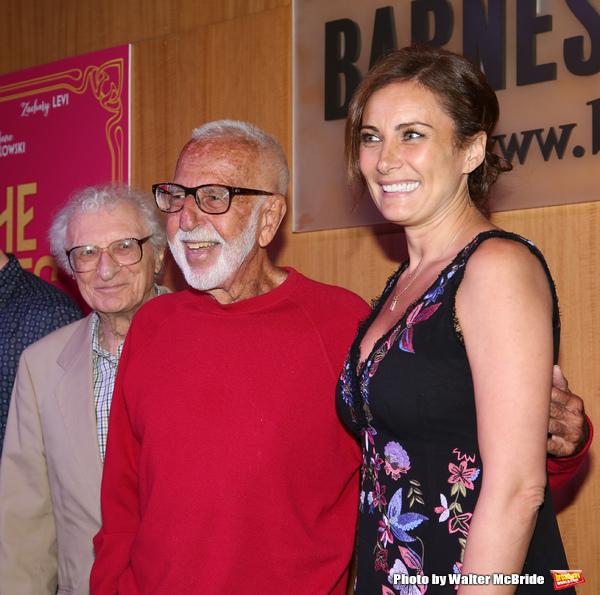 Sheldon Harnick, Joe Masteroff and Laura Benanti