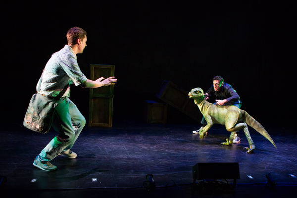 Carson Higgins & Brendan Malafronte & Raptor Photo