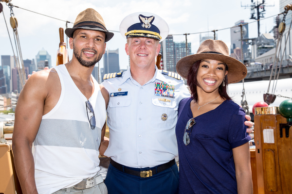 Sydney James Harcourt, Captain Matt Meilstrup, Kamille Upshaw Photo