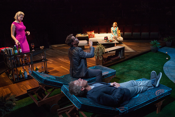 Alexandra Henrikson appears as Laura, Josh Stamberg as Gerald, Greg Germann as Norm, and Jenn Fischer as Corky