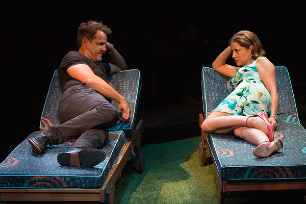 Josh Stamberg appears as Gerald and Jenna Fischer as Corky Photo