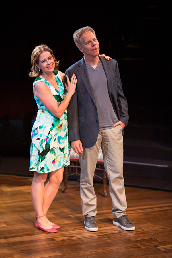 Jenna Fischer appears as Corky and Greg Germann as Norm Photo