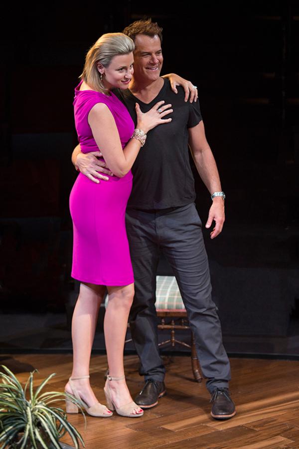 Alexandra Henrikson appears as Laura and Josh Stamberg as Gerald Photo