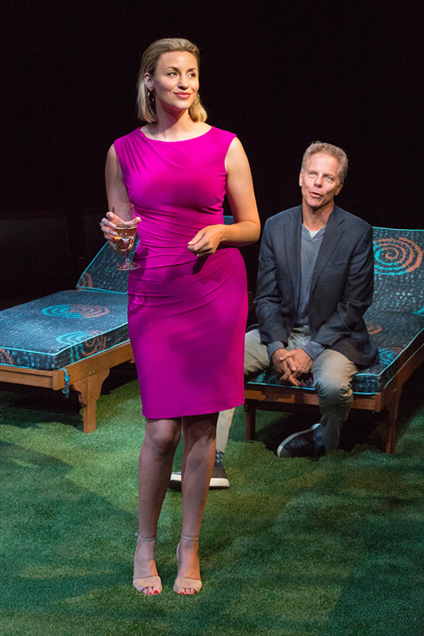 Alexandra Henrikson appears as Laura and Greg Germann as Norm