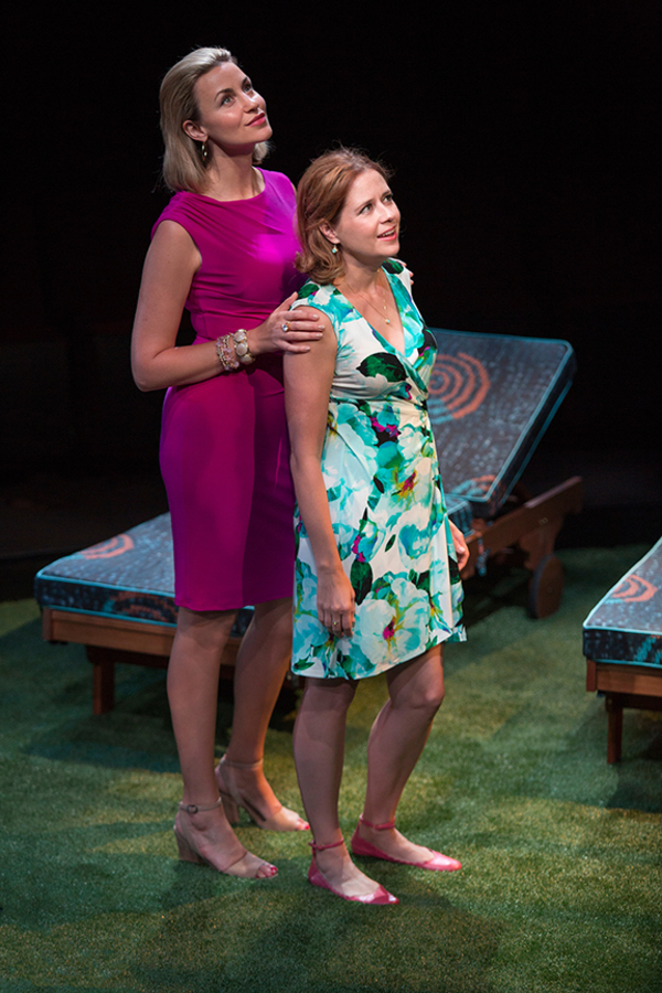 Alexandra Henrikson appears as Laura and Jenna Fischer as Corky Photo