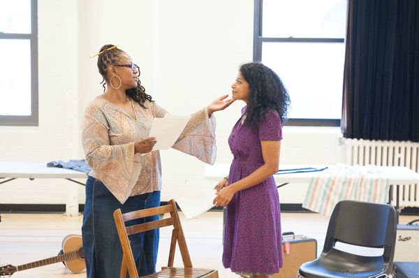 Photos: Rebecca Naomi Jones, Kecia Lewis and More in Rehearsal for MARIE AND ROSETTA at Atlantic Theater