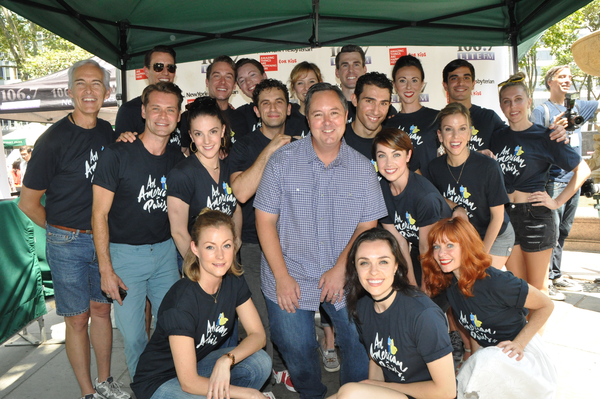 Rich Kaminski and The Cast of American in Paris that includes-Dimitri Kleioris, Leann Photo