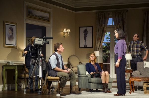 Carson Meyer, Jason Danieley, Kerry Bishé, Diane Davis, and Stephen Kunken.