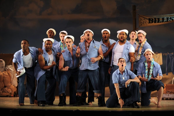 The cast of SOUTH PACIFIC at Pittsburgh CLO