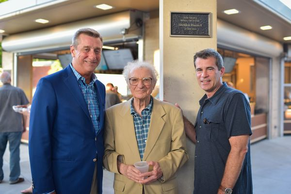 Dennis M. Reagan, Sheldon Harnick, Mike Isaacson