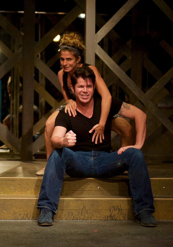 Rachel Pallante, Michael Carrasco  Photo