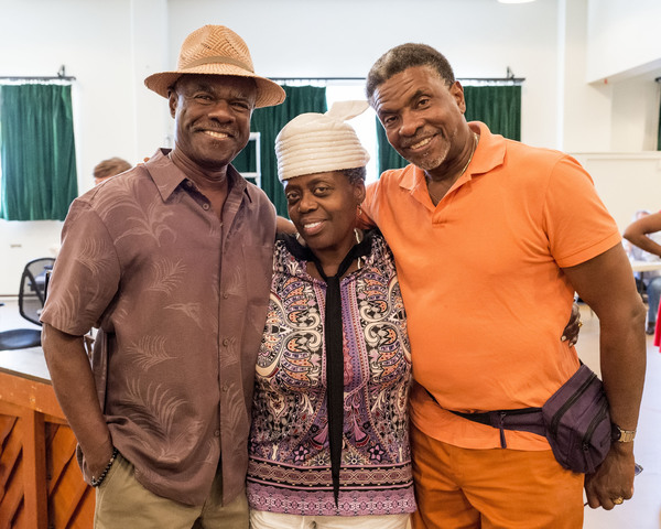 Glynn Turman, Lillias White and Keith David