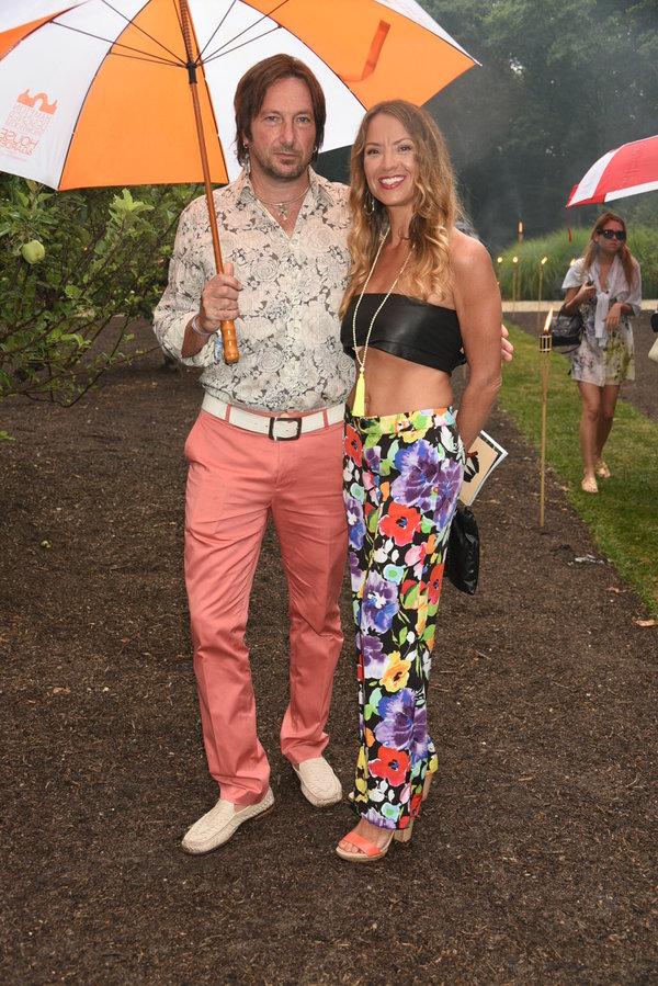 Ronald Guttman and Zoey Guttman\photo by Rob Rich/SocietyAllure.com  Photo