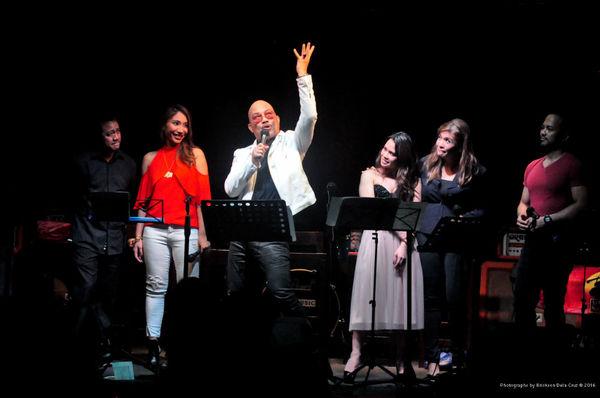 Raul Montesa, Tricia Canilao-Buser, Leo Valdez, Tanya Manalang, Pinky Amador, Ariel R Photo
