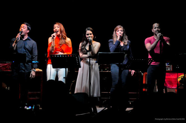 Raul Montesa, Tricia Canilao-Buser, Tanya Manalang, Pinky Amador, Ariel Reonal Photo