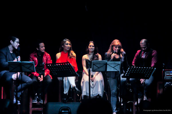 Joaquin Valdes, Raul Montesa, Tricia Canilao-Buser, Tanya Manalang, Pinky Amador, Ari Photo
