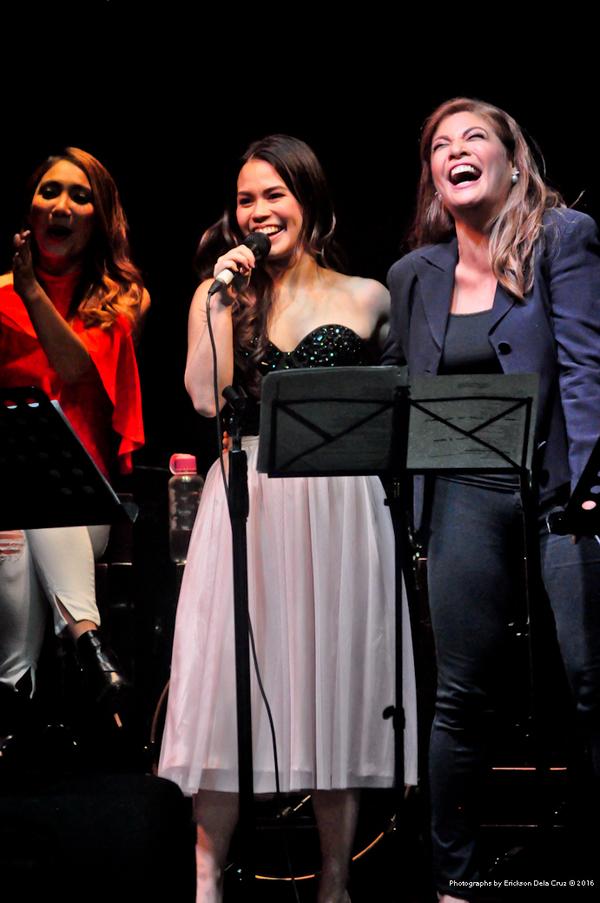 Tricia Canilao-Buser, Tanya Manalang, Pinky Amador Photo
