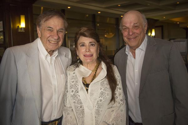 Richard Sherman, Donelle Dadigan, and Charles Fox Photo