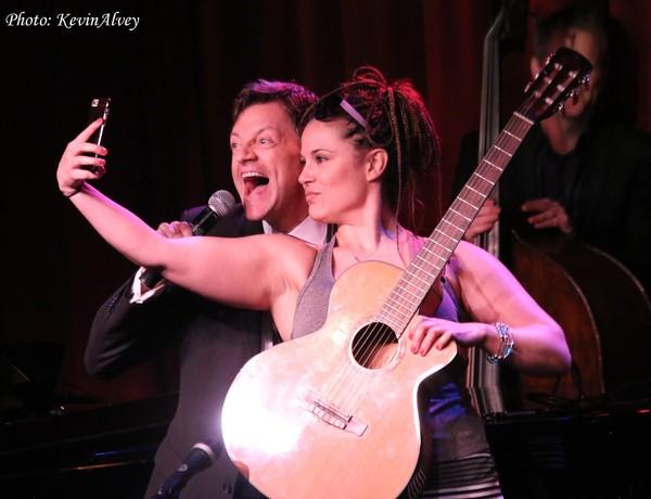 Photo Flash: Merchant of Venice Actors Let Loose at Jim Caruso's Cast Party