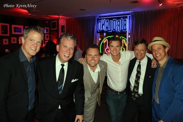 Steve Doyle, Billy Stritch, Cole Sherratt, Andy Van Allsburg, Jim Caruso, and Daniel Glass