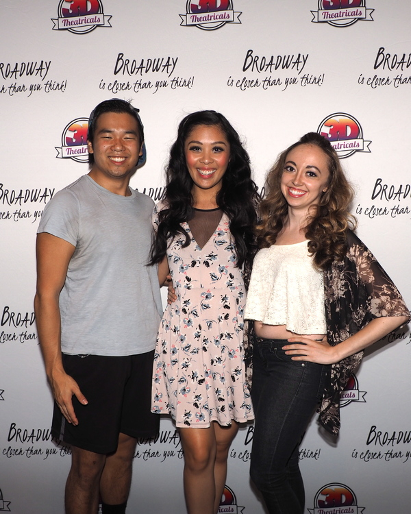 Chad Takeda, Marie Gutierrez, and Lacey Beegun