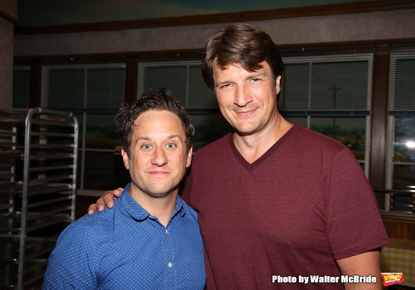 Christopher Fitzgerald and Nathan Fillion Photo