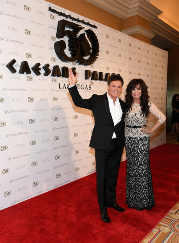 Donny Osmond and Marie Osmond Photo