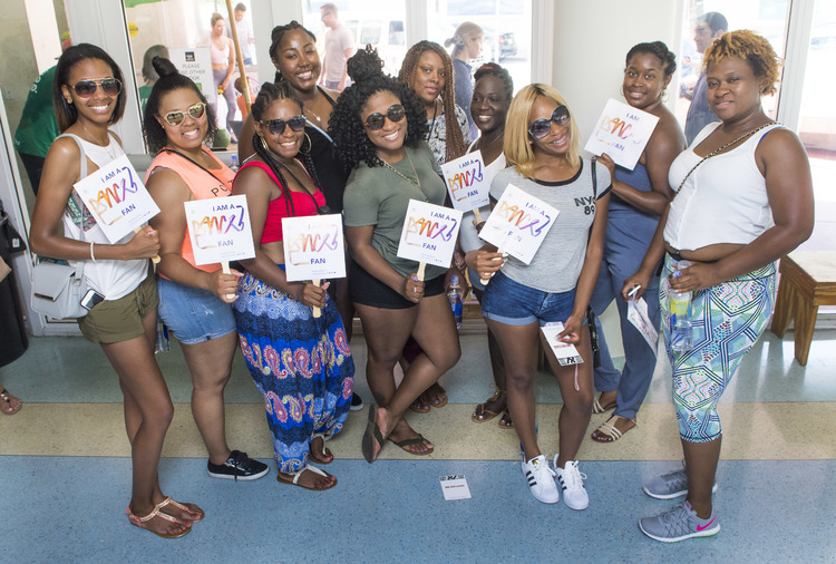 High Res Dance fans visit MCB School's Open House.
