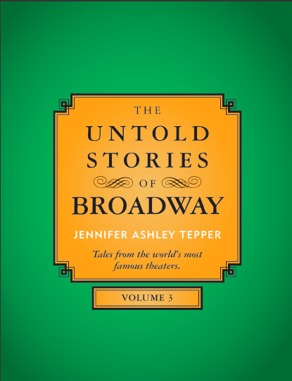 BWW Exclusive: Counting Down to Jennifer Ashley Tepper's THE UNTOLD STORIES OF BROADWAY, VOLUME 3 - The Broadhurst Theatre